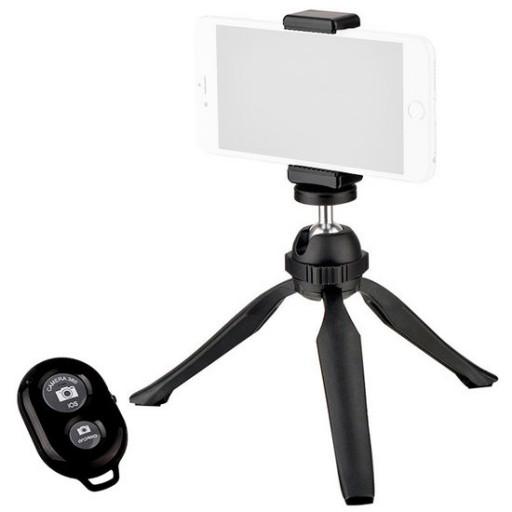 Bresser S060MT PocketPod met smartphone adapter en remote