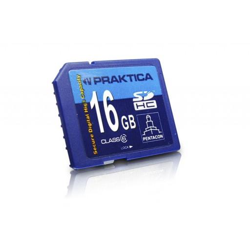 Praktica 16GB SDHC Geheugenkaart class 6