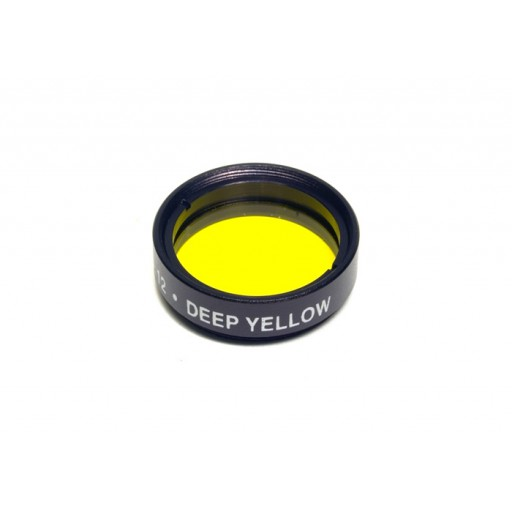 "Levenhuk 1.25"" Optical Filter #12 (Yellow)"