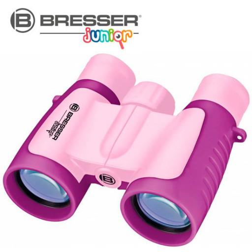 Bresser Junior Verrekijker 3x30 - Roze