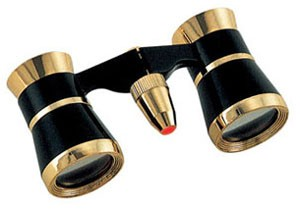 Konus 41 3x25 + Verlichting Zwart/Goud