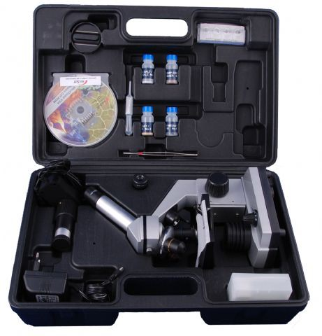 Byomic Beginners Microscoopset 40x - 1024x in Koffer