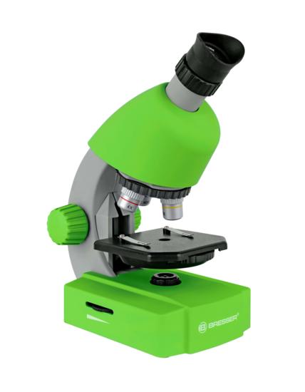 Bresser Junior Microscoop 40x-640x (groen) Tweedekans