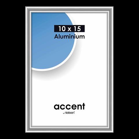 Nielsen Fotolijst 51223 Accent Zilver 10x15 cm