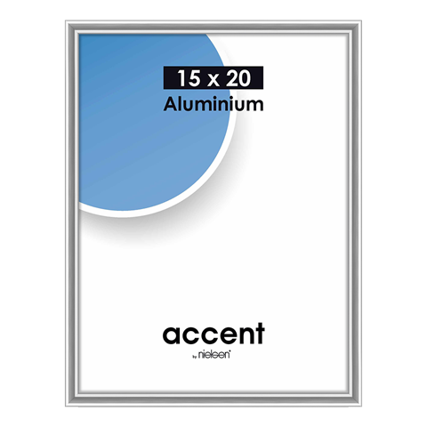 Nielsen Fotolijst 51323 Accent Zilver 15x20 cm