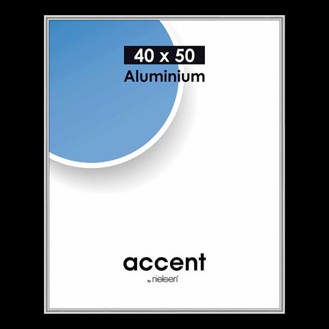 Nielsen Fotolijst 52523 Accent Zilver 40x50 cm