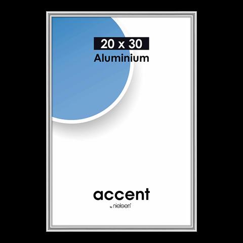 Nielsen Fotolijst 53523 Accent Zilver 20x30 cm