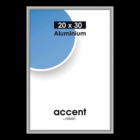 Nielsen Fotolijst 53524 Accent Mat Zilver 20x30 cm