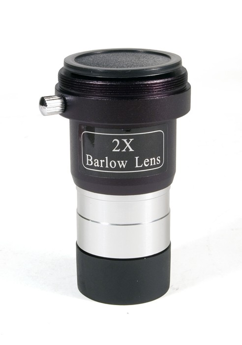 Levenhuk 2x Barlow Lens with Camera Adapter