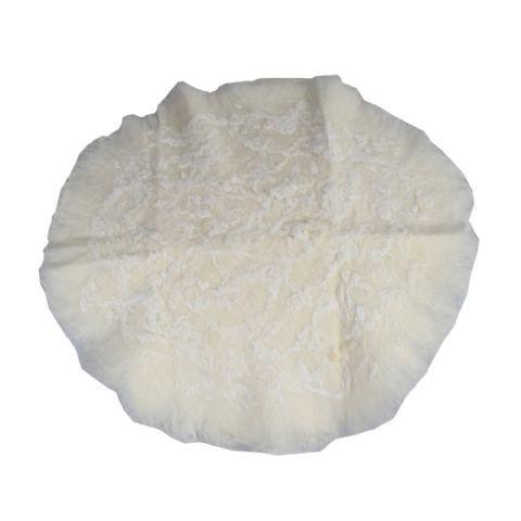 Newborn Rond Onderkleed Merino Wol Wit 60 cm