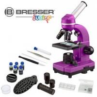 Bresser Junior Biolux SEL Studenten Microscoop - Paars