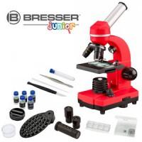 Bresser Junior Biolux SEL Studenten Microscoop - Rood