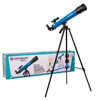 Bresser Space Explorer Telescoop 45/600 AZ - Blauw