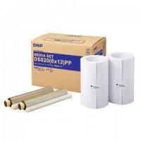 DNP Papier DM812820 Premium 2 Rol à 110 St. 20x30 voor DS820