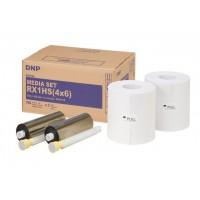 DNP Papier DSRX1HS-4X6 2 Rol à 700 St. 10x15 voor DS-RX1HS