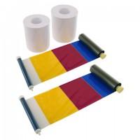 DNP Sticker Papier 2 Rol à 200 St. 15x20 voor DS620