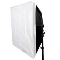Falcon Eyes Opvouwbare Softbox FASB-6060 60x60 cm voor Speedlite Camera Flitser