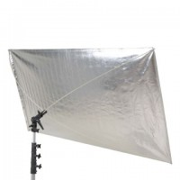 Falcon Eyes Reflector RR-5684SB Zilver/Zwart 140x210 cm