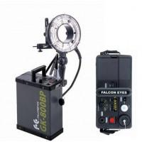 Falcon Eyes Ringflitser 800 Ws RFH-800 + Accu GK-800BP + Tas Demo