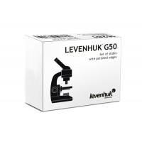 Levenhuk G50 Blank Slides, 50 pcs