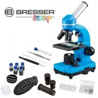Bresser Junior Biolux SEL Studenten Microscoop - Blauw