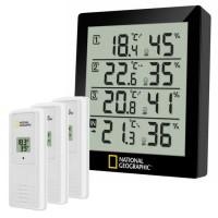 National Geographic Thermo- en Hygrometer (4 Meetresultaten)