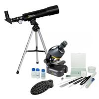 National Geographic Telescoop- en Microscoopset met Smartphone Adapter