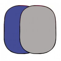 Linkstar Background Board R-1482BG Blauw/Grijs 148x200 cm