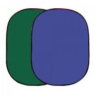 Linkstar Background Board R-1482GB Groen/Blauw 148x200 cm