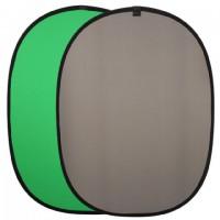 Linkstar Background Board R-1482GG Groen/Grijs 148x200 cm