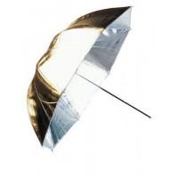 Linkstar Flitsparaplu PUK-84GS Zilver/Goud 100 cm (Omkeerbaar)