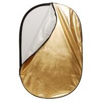 Linkstar Reflectiescherm 2 in 1 R-90120SW Zilver/Wit 90x120 cm