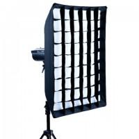 Linkstar Softbox 60x90 cm + Honingraat LQA-SB6090HC