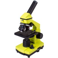 Levenhuk Rainbow 2L PLUS Lime Microscope