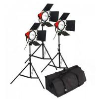 StudioKing Halogeen Licht Video Set TLR800-3