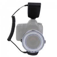 StudioKing Macro LED Ringlamp met Flitser RL-130