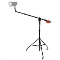 StudioKing Professionele Boomarm Set FT-1801B met Draaibare Kop