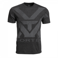 Vortex Charcoal Heather Oversize Logo T-shirt Maat XXL