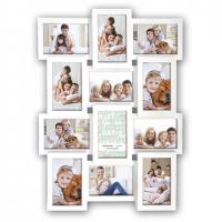 Zep Collage Fotolijst PI01917 White voor 12 Foto's