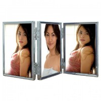 Zep Triple Fotolijst 120TS04-4R Zilver 3x 10x15 cm